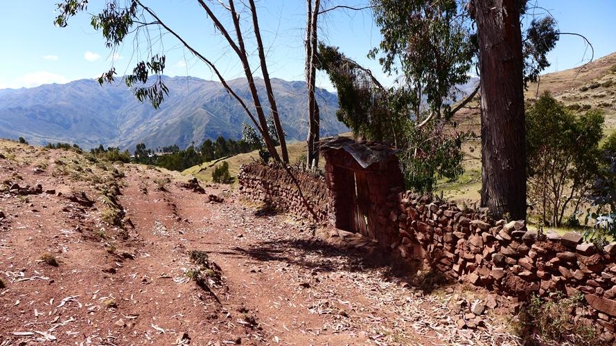 Entrée au hameau de Patabamba