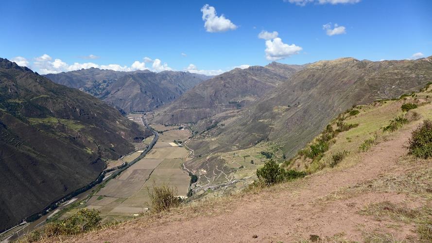 Panorama sur la Vallée Sacrée
