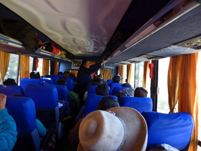 Liaison en bus local