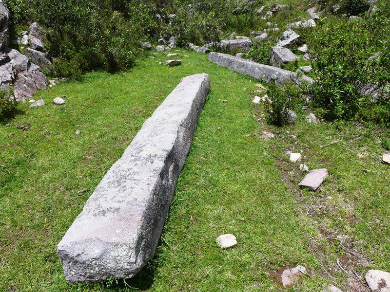 Des poutres en pierre