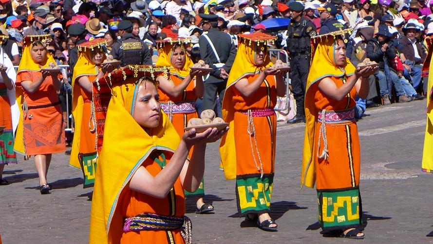 Inti Raymi à la Plaza de Armas
