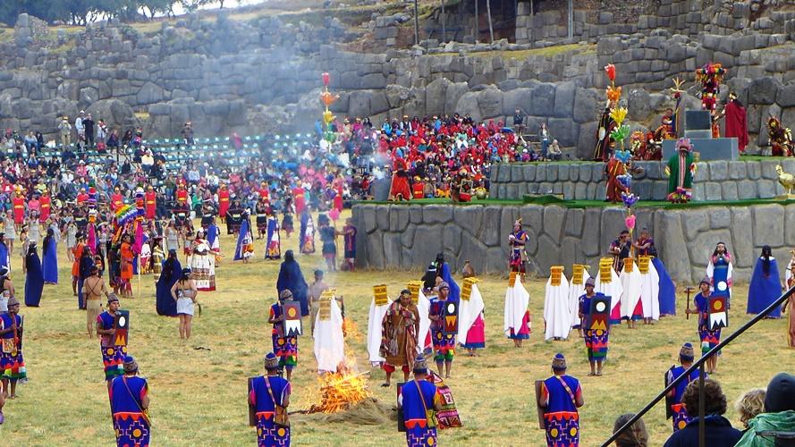 Inti Raymi à Sacsayhuaman