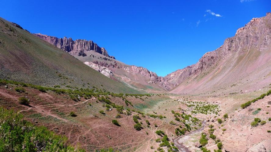 Vallée de Vargas et Cerro Penitentes