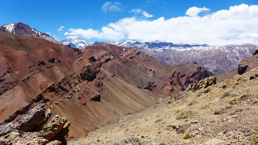 Panorama sur l'Aconcagua