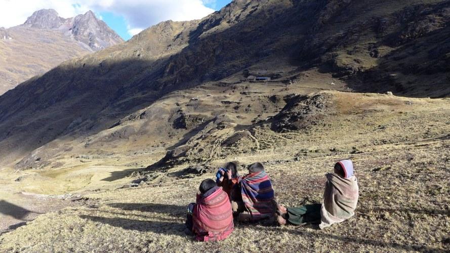Enfants des montagnes