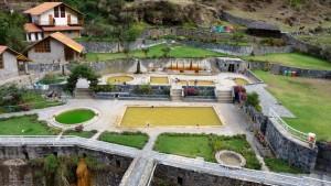 Lares les bains de l'Inca