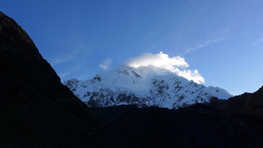 Nevado Salcantay au petit matin