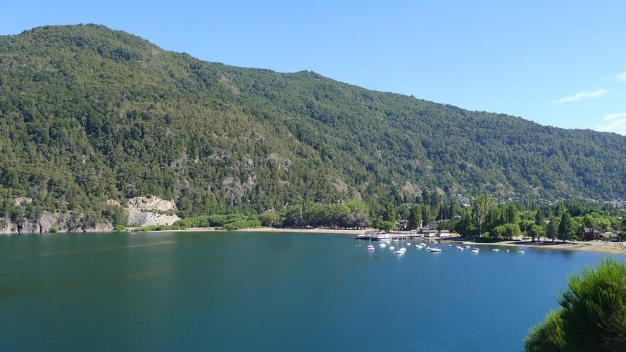 Plage de San Martín de los Andes au lac Lácar